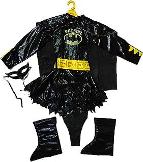 Batgirl Child Costume Set (Black, M)