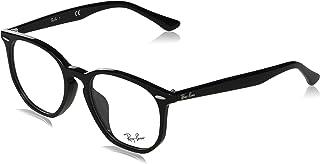 Ray-Ban RX7151F - 2000 Eyeglasses, Black Frame 52mm w/Clear Demo Lens