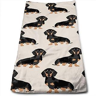 Ideali per Yoga S Asciugamano per Capelli dfdsf Cani Yoga Pose ed Esercizi Labrador Asciugamani da Cucina-Strofinacci da Cucina Asciugamani ad Asciugatura Rapida Personalizzati per Sport Stampati