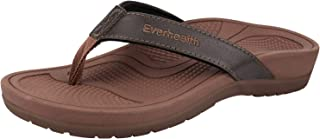 Everhealth Orthotic Sandals Stylish Thong Flip Flops Women Ultra Comfort Slippers with Arch Support for Plantar Fasciitis, Flat Feet & Heel Spur (Helps Your Posture)
