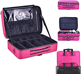 Travel Cosmetic Bags Small Makeup Clutch Pouch Cosmetic Toolbox Waterproof Portable Cosmetic Case