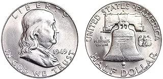 1949 S Franklin Half Dollar 50C BU