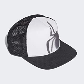 adidas Kids Boys Todller Child Hat Marvel Spider-Man Cap Fashion Logo White New