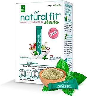 Natural Fit, Auténtico Endulzante de Stevia de 360 sobres