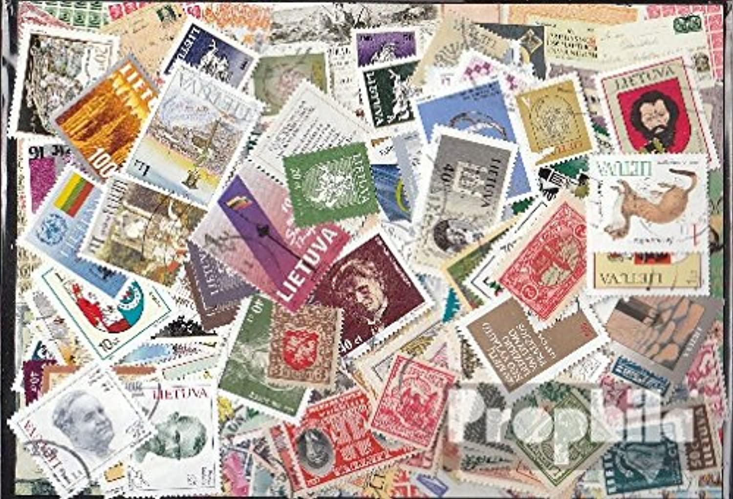 Lithuania 150 different stamps (Stamps for collectors)