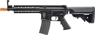 Elite Force M4 AEG Automatic 6mm BB Rifle Airsoft Gun, CQB, Black