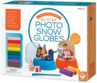 MindWare Make Your Own Glitter Photo Snow Globes