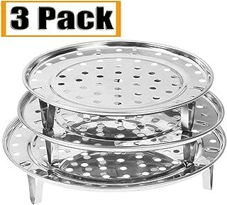 NRDBEEE Round Stainless Steel Rack 7.6