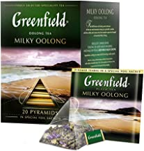 Greenfield Milky Oolong Pyramid Collection 20 Pyramids In Special Foil Sachets Oolong Tea Finely Selected Speciality Tea