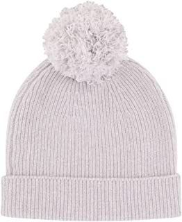 LES POULETTES Fox Hat 100% Cashmere 6 Son Removable Pompon - Classics