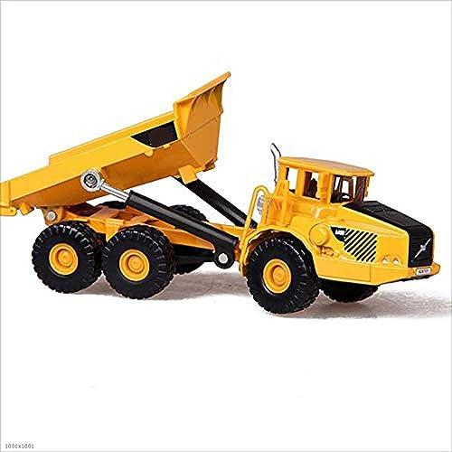 hermoso JJSFJH Juguetes Juguetes Juguetes para coches Ladrillos de construcción Camiones de carga de ingeniería Camión de gran tamaño Transportador de contenedores Vehículo de ingeniería Modelo de coche Aleación Regalo para ni  ahorre 60% de descuento