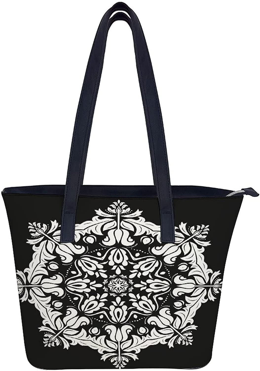 Women's Soft Faux All items free shipping Tampa Mall Leather Tote Sunflower Watercolor Bag Shoulder