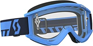 Scott Sports USA 246485-0003113 Unisex-Adult Recoil Xi Goggles (Blue/ Clear Works, One Size)
