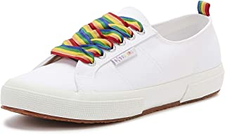Superga 2750 COTW Rainbow Pop Womens White Trainers