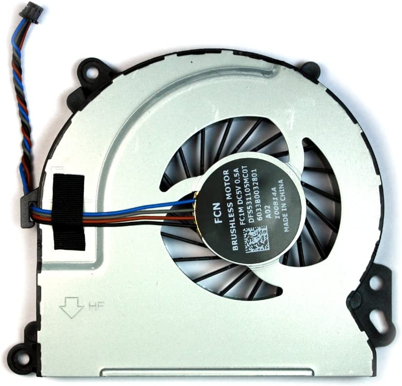 Power4Laptops Ventilador para Ordenadores portátiles Compatible con HP Envy 17-J082SF
