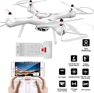 yma X25Pro RC Drone with Adjustable Wi-Fi 720P HD Camera, GPS Return Home, Altitude Hold, Follow Me RC Quadcopter