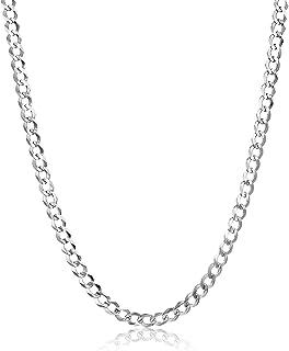 nuovo stile e2265 1ad1f Amazon.it: collana uomo oro bianco - Oro bianco: Gioielli