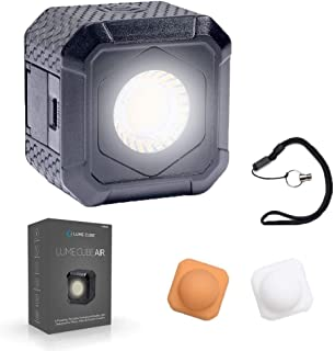 Lume Cube AIR Magnetic LED Light for Photo, Video, and Content Creation, Waterproof On-Camera LED for Sony, Canon, Nikon, Panasonic, Fuji, Smartphone, GoPro…
