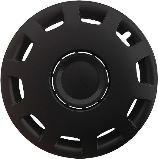Autoteppich Stylers Größe Wählbar 15 Zoll Radkappen Radzierblenden Gani Schwarz Passend Für Fast Alle Fahrzeugtypen Universal Auto