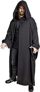 Men's Jedi Sith Robe Cloak Costume Brown Black