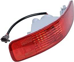 Anzio 1pc Rear Right Tail Bumper Marker Light Lamp Reflector Compatible with 2007-2012 Mitsubishi Citroën C-Crosser Outlander Peugeot 4007