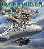 Sticker Iron Maiden Flight 666 A...