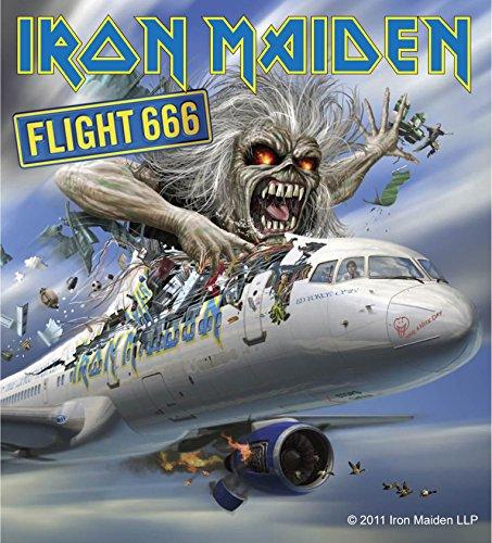 Sticker Iron Maiden Flight 666 Album Cover Art English Heavy Metal Music Decal