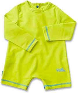 UV Skinz Baby Boys UV Sunzie with Long Sleeves – UPF 50+ Sun Protection Onesie