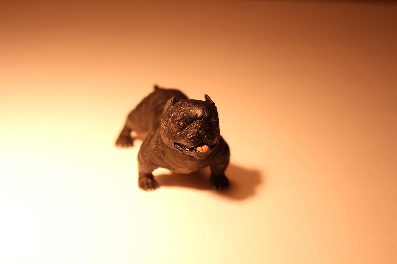 Miniature Dog Figurine Mini Figure Decoratio Animal Toy OFFicial store Bull Ranking TOP15