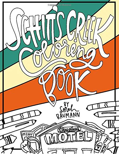 Schitt's Creek Coloring Book - Adult Coloring Book - Schitts Creek Gifts...