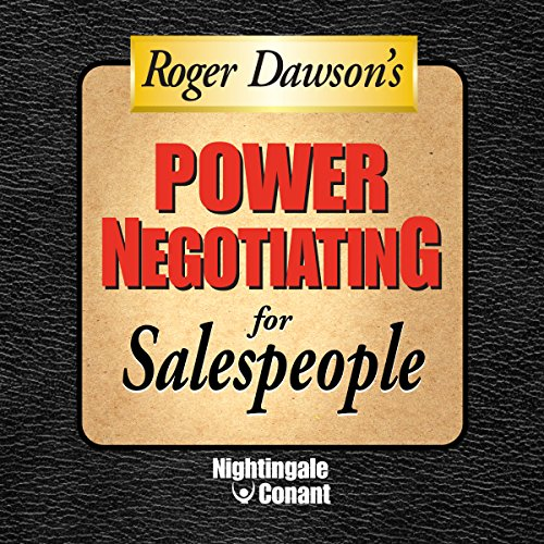 Power Negotiating for Sales People cover art