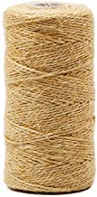 377 Feet Natural Jute Twine Best Arts Crafts Gift Twine Christmas Twine Durable Packing String for Gardening Applications