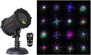 LedMAll® Bluetooth RGB Firefly Large Motion Patterns Laser Christmas Lights, Decorative, Landscape Garden Projector Remote Control Timer