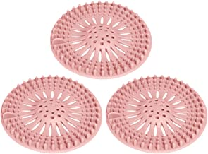 SagaSave 3 Stks Drain Hair Catcher, Douche Drain Cover Protector, Flexibele Residuen Filter Plug voor Badkuip, Gootsteen, ...
