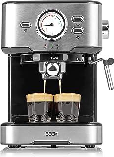 BEEM ESPRESSO-SELECT porte-filtre espresso 15 bars | Espresso, Cappuccino, Latte Macchiato en qualité barista | Boîtier de...