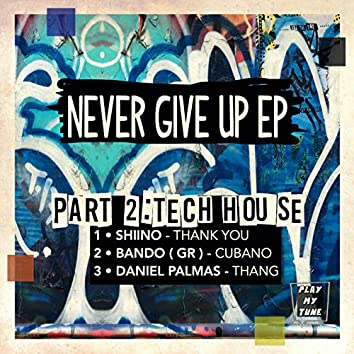 NEVER GIVE UP  PART 2 : TECH HOUSE