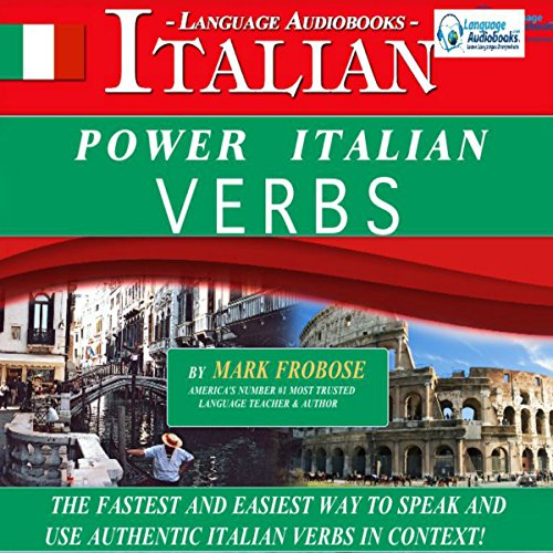 Power Italian Verbs: English and Italian Edition audiobook cover art