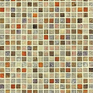 Papel de multicolor con patrón de mosaico, autoadhesivo,