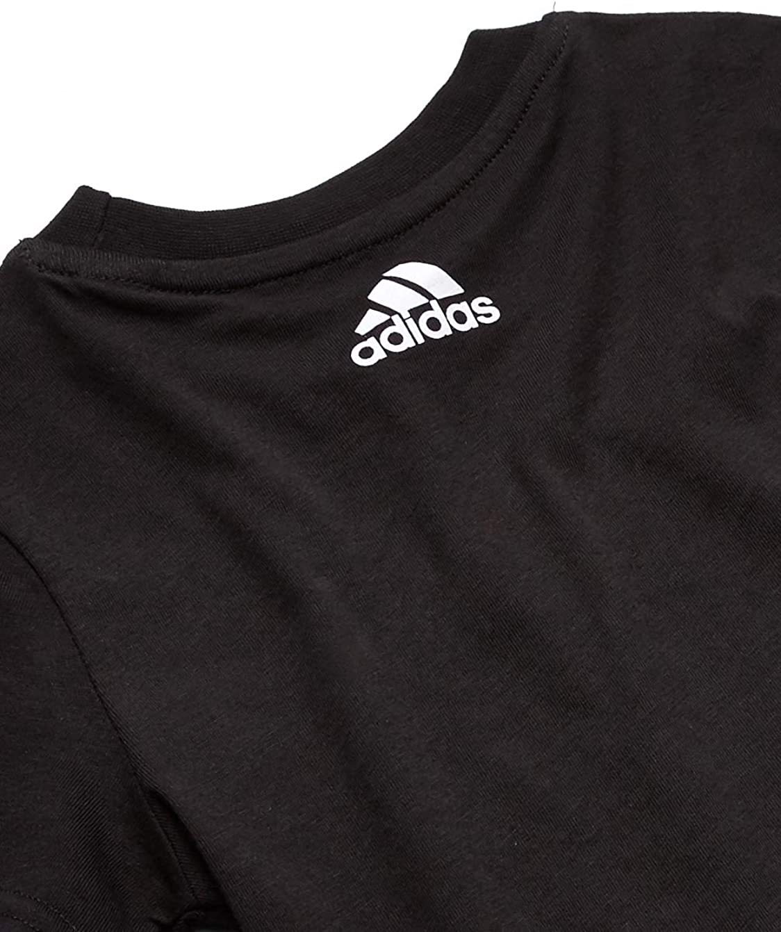 adidas Boys' Badge of Sport Soccer Tee: Clothing
