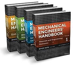 Mechanical Engineers' Handbook, 4 Volume Set