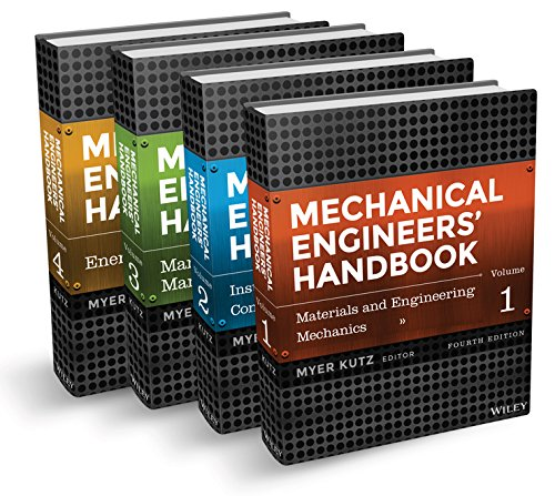 Mechanical Engineers' Handbook, 4 Volume Set
