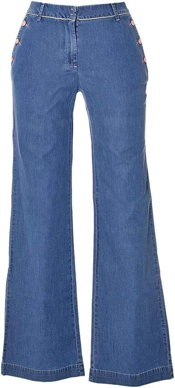 Jeckerson Women's 26PCJDPA39XT051419516176 bluee Cotton Jeans