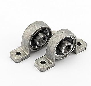 Cojinete 25mm - Rodamientos de Cojinete Rodamiento Lineal 25mm Auto Ajuste Centro Montada textuales 2Pcs (20mm)