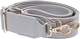 FITYLE Leather Crossbody Shoulder Bag Handle Handbag Strap Replacement 130cm, with Metal Clips, Adjustable