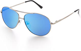 Aviator Sunglasses for Kids Girls Boys Children, Small Face Eyewear for Age 3-12, UV Protection, with Case, Lightweight