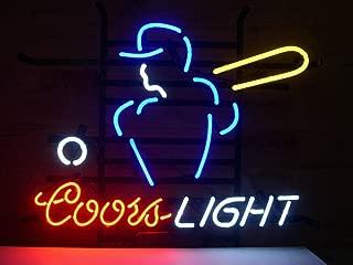 Coors Light Mlb Basebal Neon Sign 20