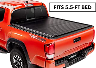 RetraxPRO MX Retractable Truck Bed Tonneau Cover | 80841 | fits Tundra CrewMax 5.5' Bed with Deck Rail System (07-18)