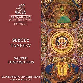 Sergey Taneyev, Sacred Compositions