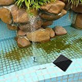 3nh Eco-friendly Design 180L/H Solar Power Fountain Water Pump Panel Kit Pool Home