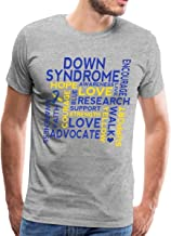 Down Syndrome Word Cloud Men's Premium T-Shirt